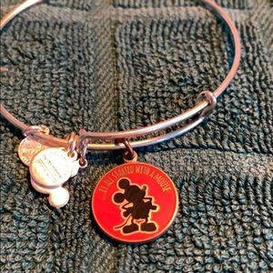 Alex and Ani Mickey Mouse bracelet